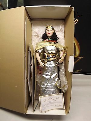 Cleopatra Doll Boxed By Danbury Mint
