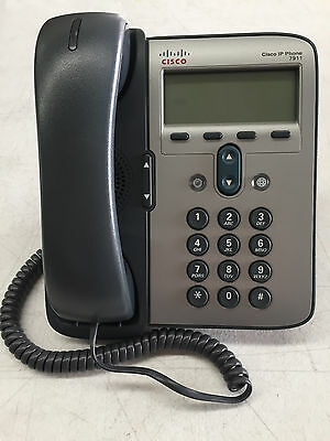 CISCO CP-7911G IP Phone + Stand and Handle