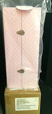 Pottery Barn Kids DOLL Storage TRUNK Clothes Gotz Bailey Emma Christmas GIFT NEW