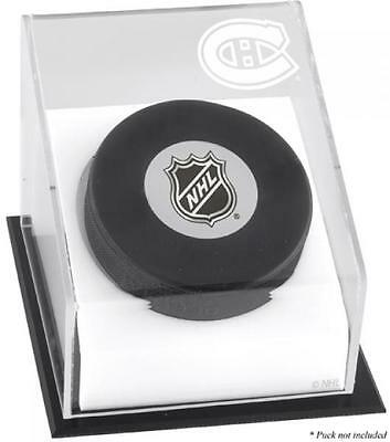 Montreal Canadiens Puck Logo Display Case Fanatics Authentic Certified