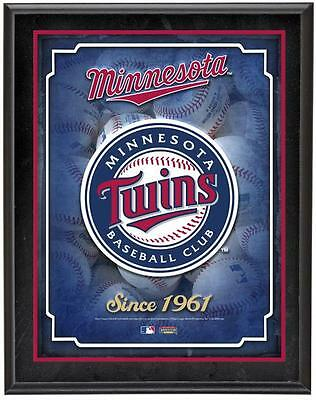 "Minnesota Twins Team Logo Sublimated 10.5"" x 13"" Plaque"