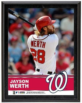 "Jayson Werth Washington Nationals Sublimated 10.5"" x 13"" Plaque"