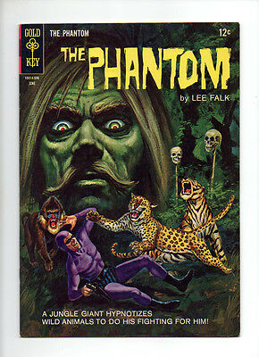 """The Phantom #12 """"The Jungle Giant"""" Painted Cover VF 1st Track Hunter"""