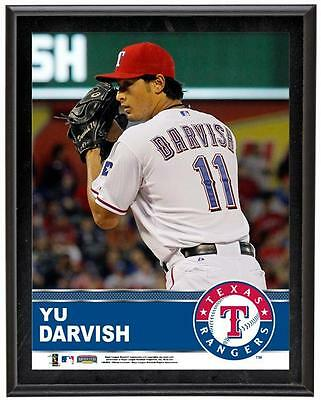 "Yu Darvish Texas Rangers Sublimated 10.5"" x 13"" Plaque"