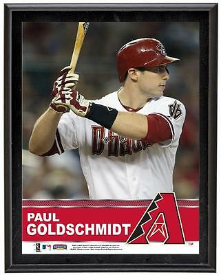 "Paul Goldschmidt Arizona Diamondbacks Sublimated 10.5"" x 13"" Plaque"