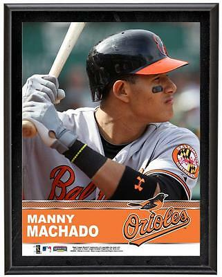 "Manny Machado Baltimore Orioles Sublimated 10.5"" x 13"" Plaque"
