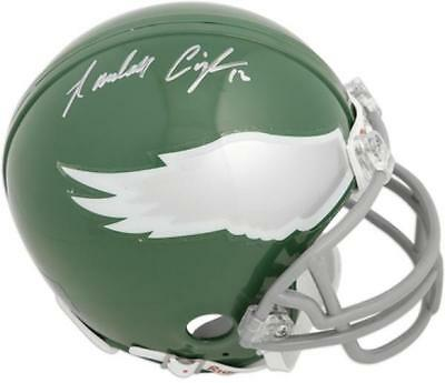 Randall Cunningham Philadelphia Eagles Autographed Riddell Throwback Mini Helmet