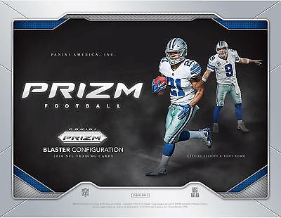 2016 Panini Prizm Football Factory Sealed 6 Pack Box with Item#6531467