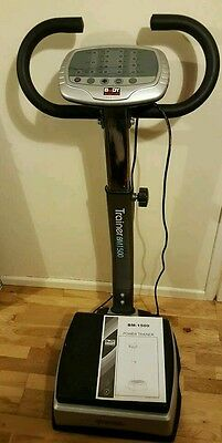 Power Trainer Vibration Plate Exercise Machine Gym Fitness