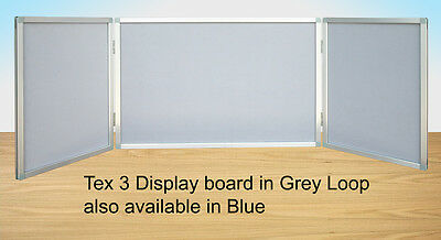 Desktop Exhibition Folding Display Show Board Stand 3 panel kit Aluminium