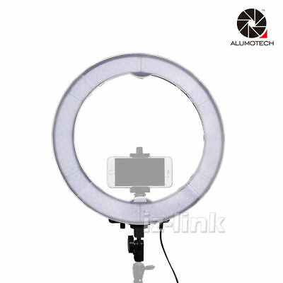 """Dimmable 5500K 19"""" Outer 55W 240PCS LED SMD Ring Lighting + Filter+ Carry Bag"""