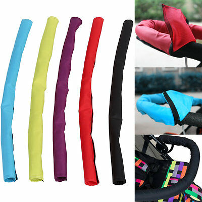 Waterproof Baby Stroller Pushchair Buggy Oxford Fabric Handle Bar Bumper Cover
