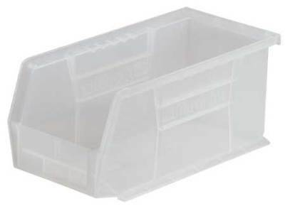 """Clear Hang and Stack Bin, 18""""L x 11""""W x 10""""H AKRO-MILS 30260SCLAR"""