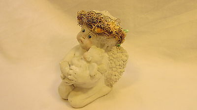 1991 Signed Dreamsicles Angel Hand Crafted By Cast Art Ind Mexico