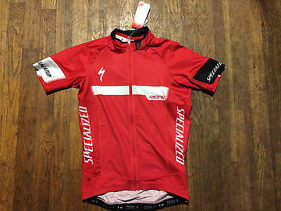 BNWT SPECIALIZED SL PRO TEAM  CYCLING JERSEY SMALL $150 RED Black Road Mountain