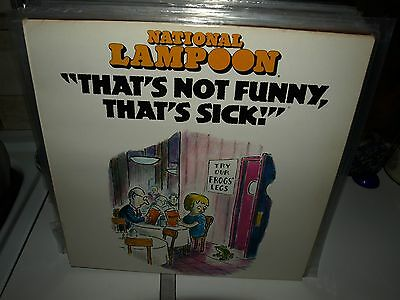 NATIONAL LAMPOON that's not funny...vinyl comedy album