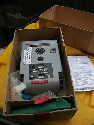 Safety Ohm Meter by Fairey unknown working condition untested came from Laverton