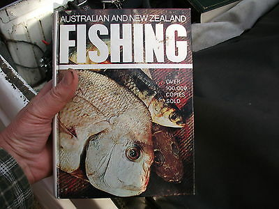 Australian And New Zealand FISHING iconic Aussie fishing book 100,000 copies sol