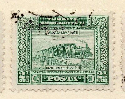 Turkey 1929-30 Early Issue Fine Used 2.5k. 112027