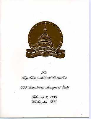 The Republican National Committee 1995 Repub.Inaugural Gala (Booklet)