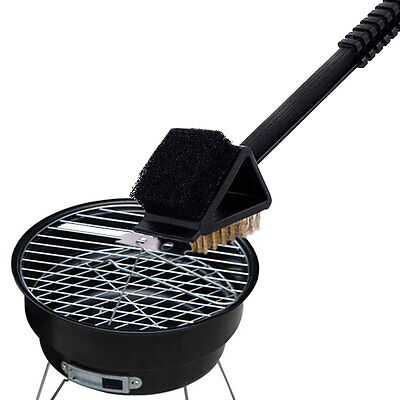 Brosse nettoyage Grill Barbecue 3 Fonctions Grille Racloir Cleaner Scraper BBQ