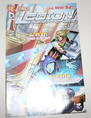 Legion of Super-Heroes #5 (March 2012, DC)