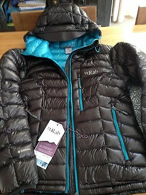 Woman's RAB - CONTINUUM JACKET / COAT -  Down size 12 ***BARGAIN PRICE @ £160***
