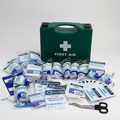 BS8599-1 Compliant Workplace Sturdy First Aid Kit. BS8599 SMALL First Aid Box