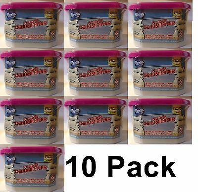 10 X Dehumidifier Interior Damp Moisture Mould Mildew Remover Trap Home Caravan