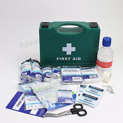 BS8599-1 Compliant Workplace Sturdy First Aid Kit. BS8599 TRAVEL First Aid Box