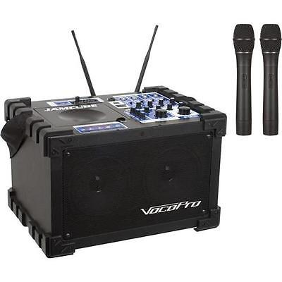 VocoPro JAMCUBE2 100W All-in-One Stereo Mini PA Entertainment System