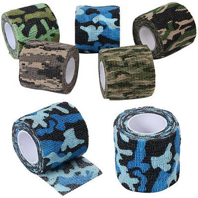Army Camo Outdoor Hunting Tool Camouflage Stealth Tape Waterproof Wrap Durable