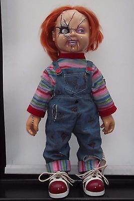 """Chucky 25"""" Life Size Talking Animated Doll child's play toy figure"""