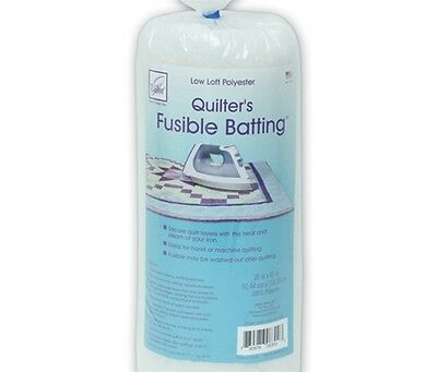 "June Tailor Fusible Quilt Batting (Polyester) - Craft Size 36"" x 45"""
