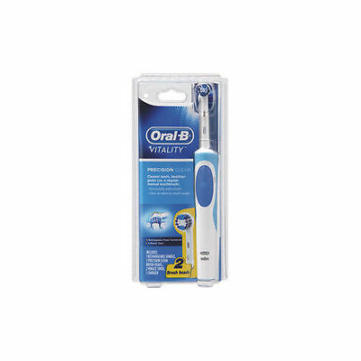 Oral B Vitality Precision Clean Electric Toothbrush with 2 Brush heads New