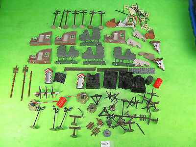 Vintage mixed maker etc military related 4mm OO model railway 1424