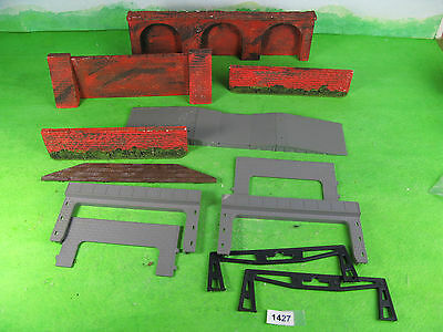 Vintage unknown maker etc plaster walling arches 4mm OO model railway 1421