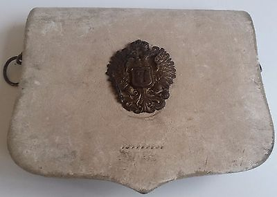Brilliant Scarce WW1 Buff White Imperial Austro-Hungarian 7th Uhlan Hussar Pouch