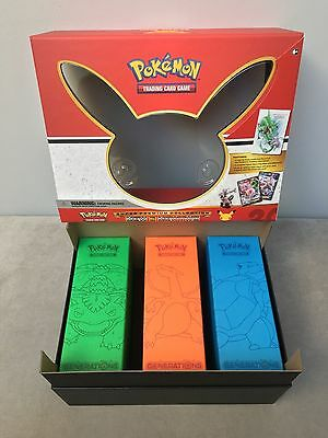 BOX ONLY Pokemon Generations Collector Box (Super Premium Collection) + Divider