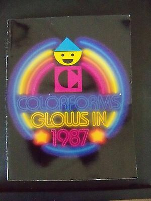 Vintage 1987 COLORFORMS Catalog - BraveStarr Popples Ghostbusters Pound Puppies