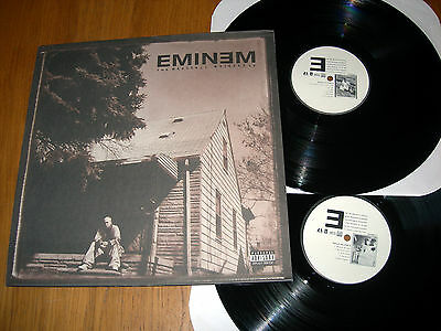 EMINEM - THE MARSHALL MATHERS LP - Double LP