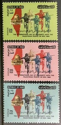 Iraq Stamps-1980-International Day Of Solidarity With The Palestinian People-MNH