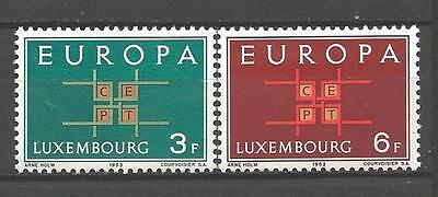 EUROPA 1963 Luxembourg neuf ** 1er choix