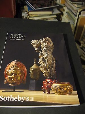 SATURDAY   AT SOTHEBY'S  CHINESE WORKS Of  ART CERAMICS  MARCH 19 2016 CATALOG