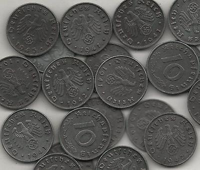 Rare Old Antique WWII BERLIN Nazi Germany WWII Collection Coin Gift FREE US SHIP