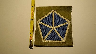 Extremely Rare WWI V CORPS Liberty Loan Patch. RARE!!!