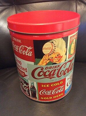 Vintage Coca-cola Sealed 700 Pcs Puzzle In Tin Container