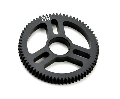 Exotek Racing 1544 Flite Spur Gear 48P 69T, Machined Delrin EXO1544