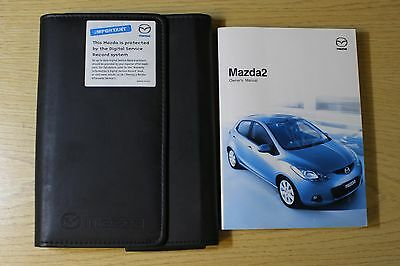 Mazda 2 Handbook Owners Manual Wallet 2007-2010 Pack 5528
