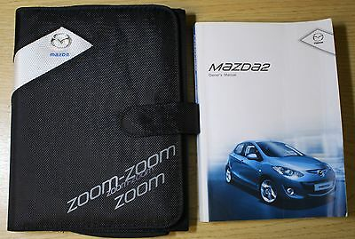 Mazda 2 Handbook Owners Manual Wallet 2010-2014 Pack 7879